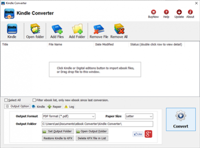 pdf to kindle converter software free download