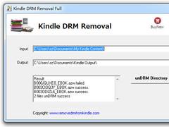 Kindle Drm Removal 1.2.1.1 Screenshot