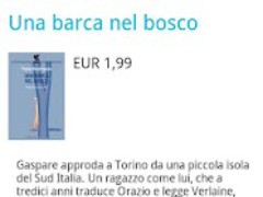Ebook Italiano Daily Deal 0.19 Screenshot