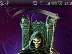 King Grim Reaper Fire LWP 1.1 Screenshot