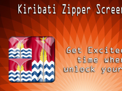 Kiribati Zipper ScreenLock 1.0 Screenshot