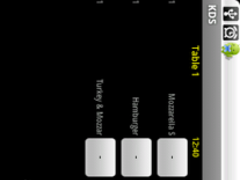 Kitchen Display for BarPOS 1.1 Screenshot