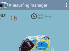 Kitesurf calculator 4.3.9 Screenshot