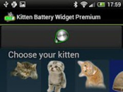 Kitten Battery Widget Premium 1.4 Screenshot