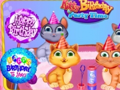 Kitty Birthday Party Time 1.0 Screenshot