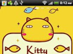 Kitty Cat Theme Go Launcher Ex 1.0 Screenshot