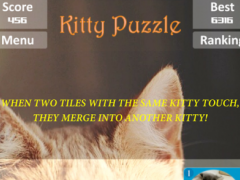 Kitty Puzzle _ Merge the cats 3.1 Screenshot