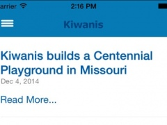 Kiwanis International 2.4.1 Screenshot