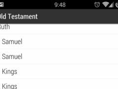 KJV Offline Bible (Old) 1.01 Screenshot