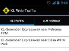 KL Web Traffic 2.1 Screenshot
