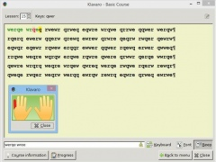 "Review Screenshot - ""Yet another touch typing tutor"""