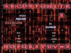 Klingon Translator 1.0 Screenshot