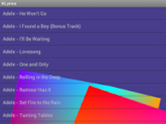 KLyrics - Smart Lyrics Finder 1.0.21 Screenshot