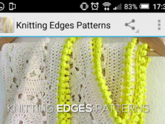 Knitting Edges Patterns 1.0 Screenshot