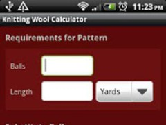 Knitting Wool Calculator 1.0 Screenshot