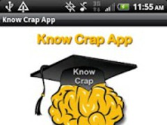 Know Crap App 1.1 Screenshot