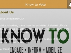 Know to Vote 2.0 Screenshot