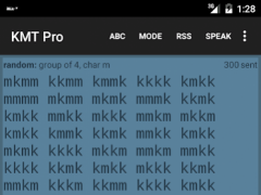 Koch Morse Trainer Pro 2.1.1 Screenshot