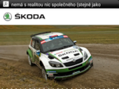 Å KODA Motorsport App  Screenshot