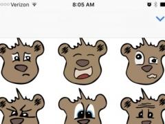 Kodi Bear Stickers 1.0 Screenshot