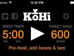 KoHi - Pour Over Coffee Brewing 1.28.19 Screenshot