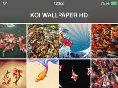 Koi Pond Wallpaper Koi Background Koi Puzzles 1.1 Screenshot