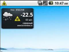 KomiMeteo Widget 1.4 Screenshot