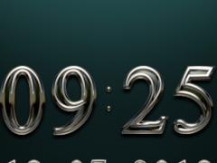 KOMPONIST Digital Clock Widget 2.60 Screenshot