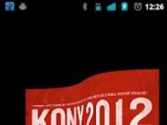 Kony 2012 Live Wallpaper Flag 3.0 Screenshot
