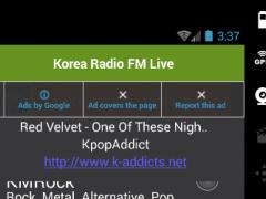 Korea Radio FM Live 2.0 Screenshot