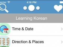 Korean English Vocabulary And Phrases Book Free 1.0 Screenshot
