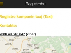 KOSOVA TAXI 2.5.0 Screenshot