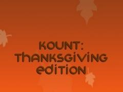 Kount: Thanksgiving Edition 1.1 Screenshot