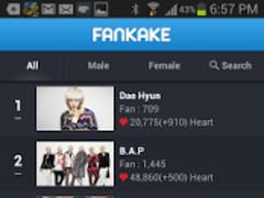 KPOP Fankake (B1A4,BAP,Etc...) 2.0.6 Screenshot