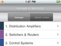 Kramer Product Catalog 1.0 Screenshot