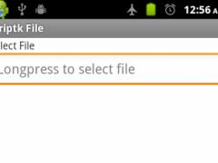 K File: Personal Encryption 1.4 Screenshot