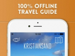 Kristiansand Travel Guide and Offline City Map 1.1 Screenshot