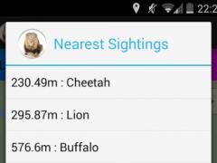 Kruger Sightings 2.0.1 Screenshot