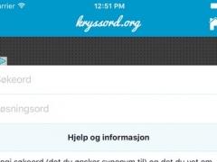 Kryssord 1.0 Screenshot