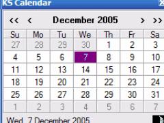 KS Calendar 1.9.0 Screenshot