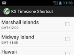 KS Timezone Shortcut 1.0 Screenshot