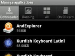 Kurdish Latin Keyboard 1.1 Screenshot