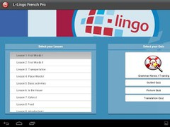 L-Lingo Learn French HD 5.01 Screenshot