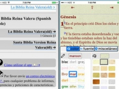 La Biblia Reina Valera (Spanish Bible) 8.7.3 Screenshot