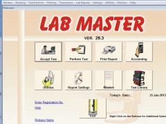LAB MASTER 10.7 Screenshot