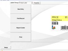 Label Flow Free Barcode Software 6.7 Screenshot