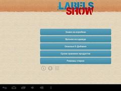Labels Show 2.9.1 Screenshot