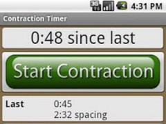 Labor and Contraction Timer 1.3.2 Screenshot