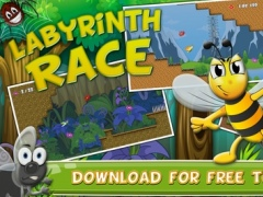 Labyrinth Race: Bees and Friends - Jump, Run, Fly and Survive - Try not to Get Eaten! 1.0.1 Screenshot