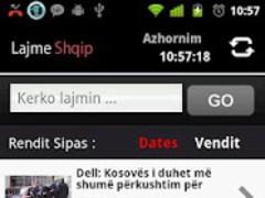 LajmeShqipDroid 1.1 Screenshot